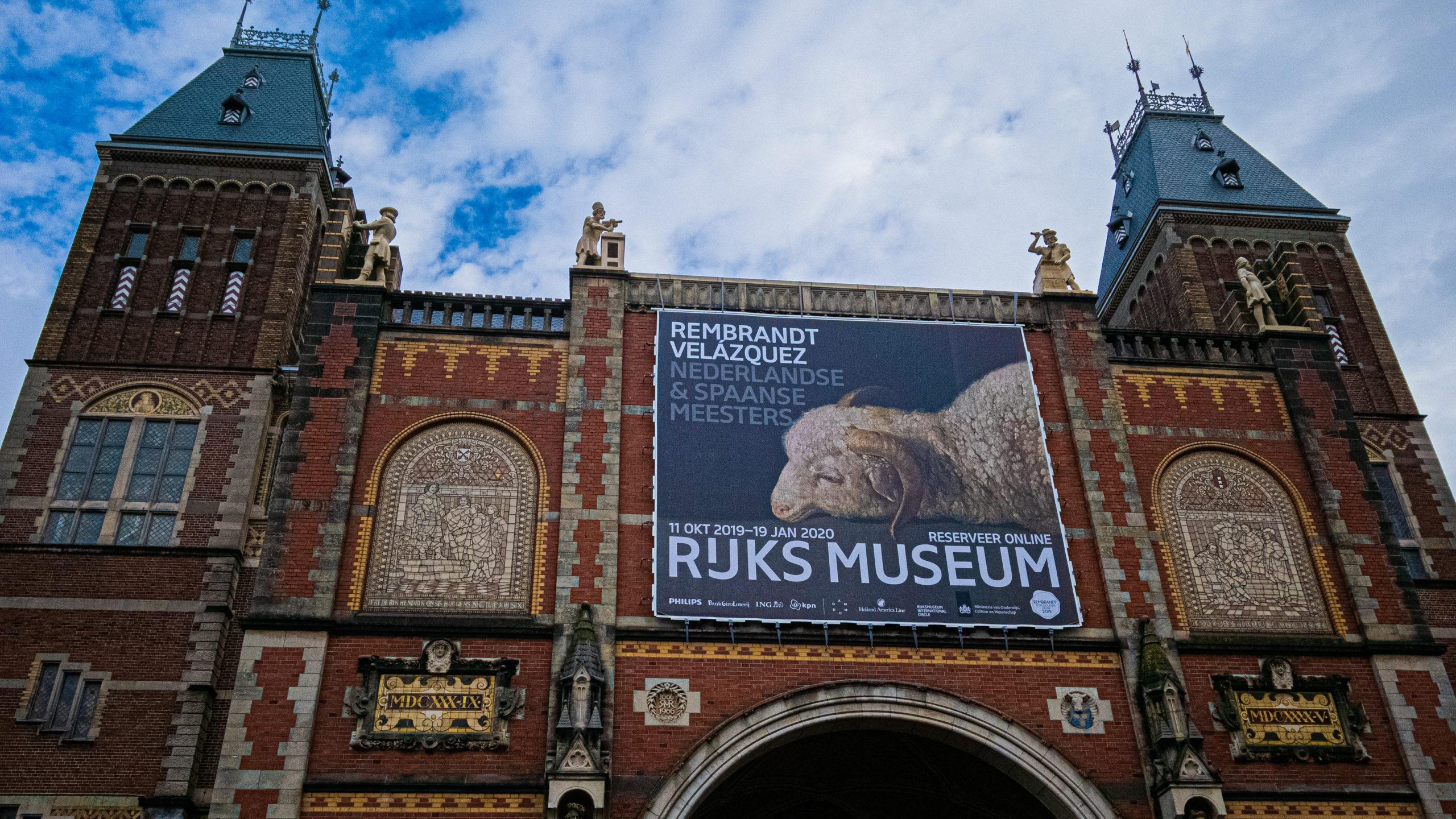 Façade du Rijskmuseum