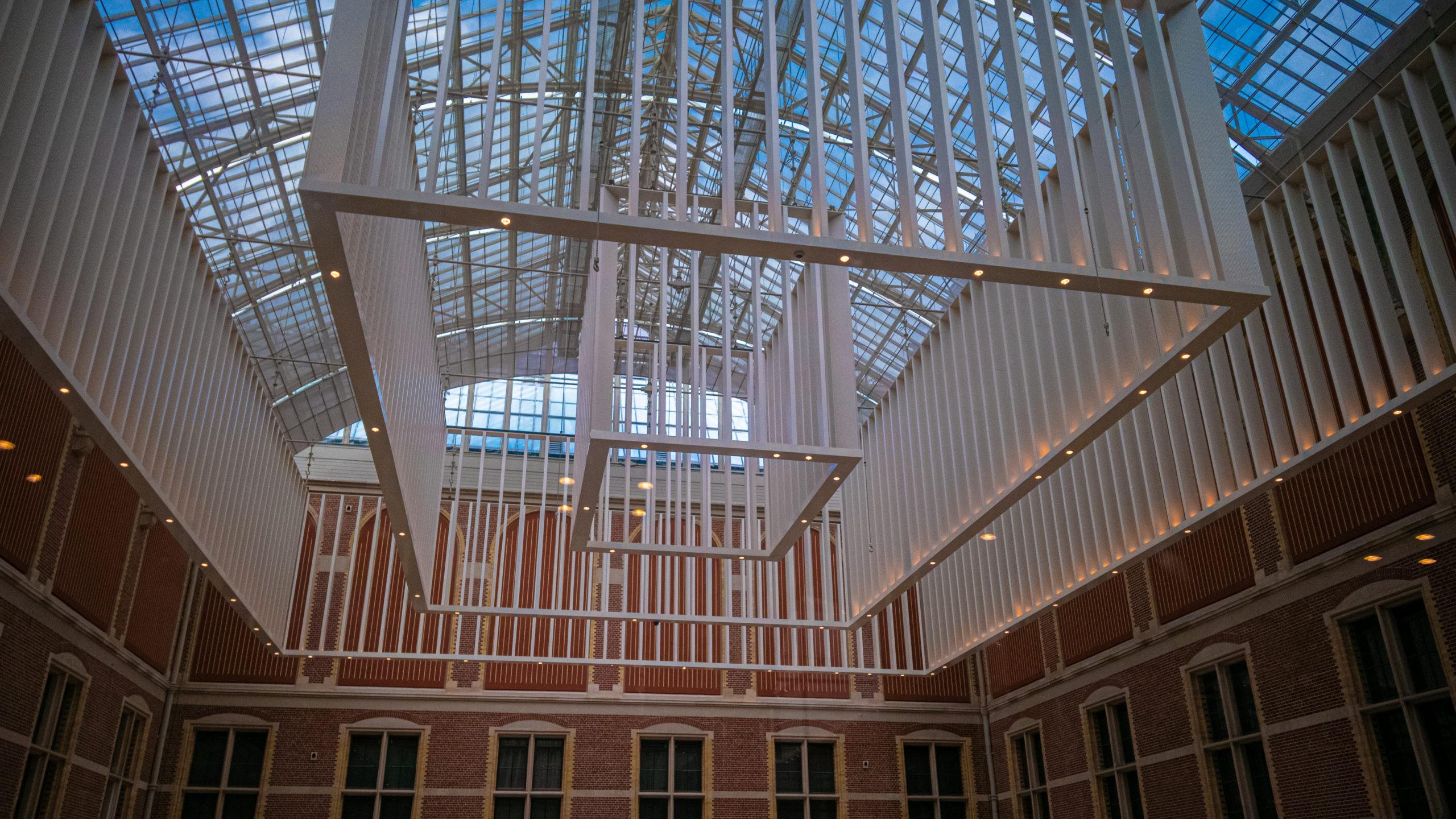 Plafond du hall du Rijskmuseum