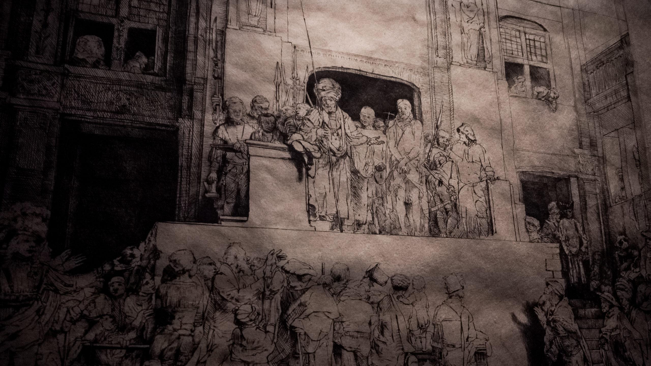 Esquisses du Musée de la Maison de Rembrandt