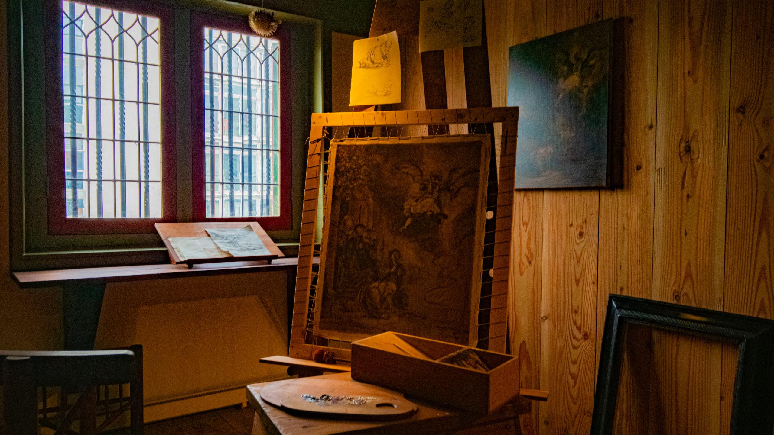 Chevalet du Musée de la Maison de Rembrandt