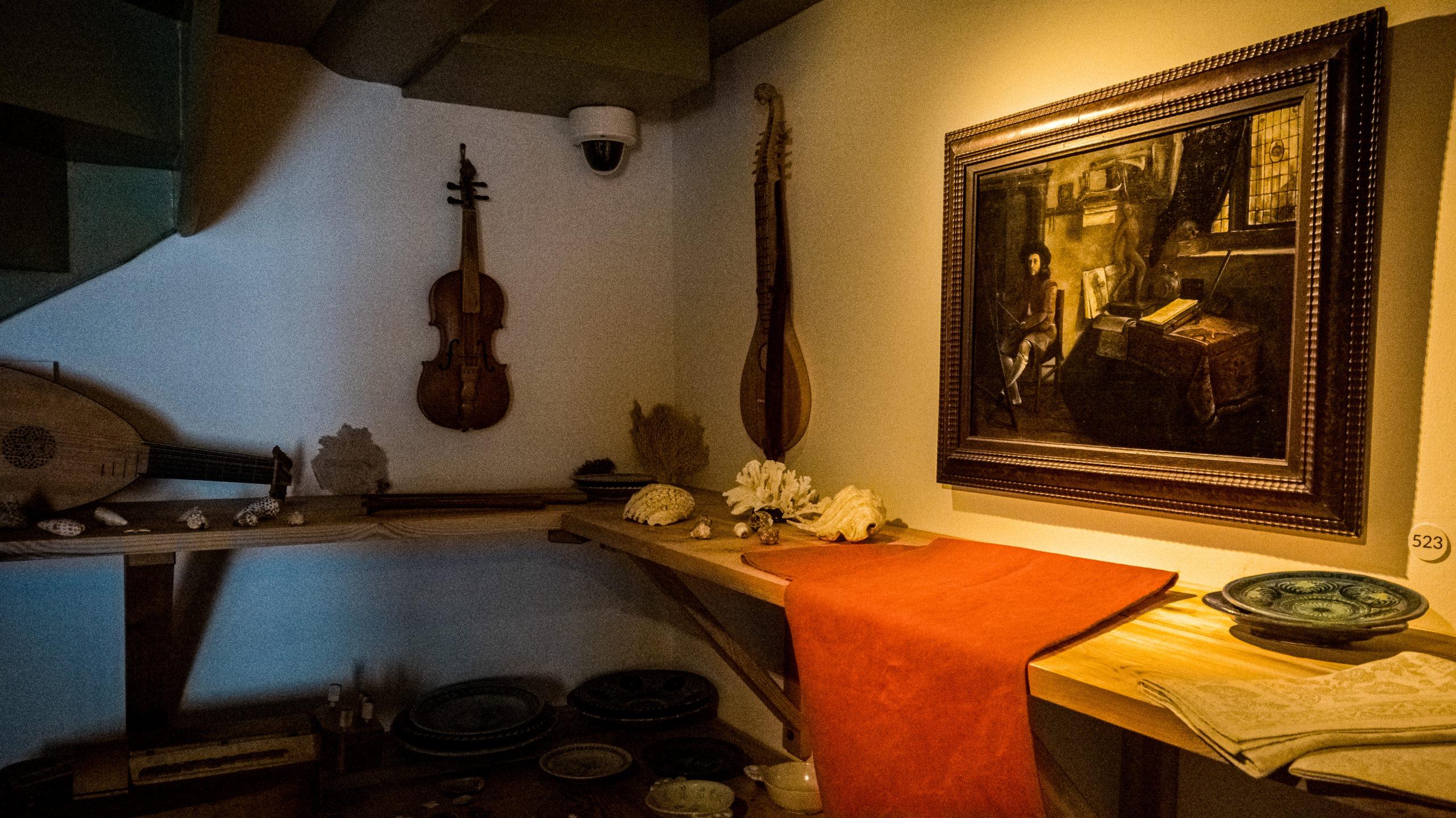 Instruments de musique du Musée de la Maison de Rembrandt