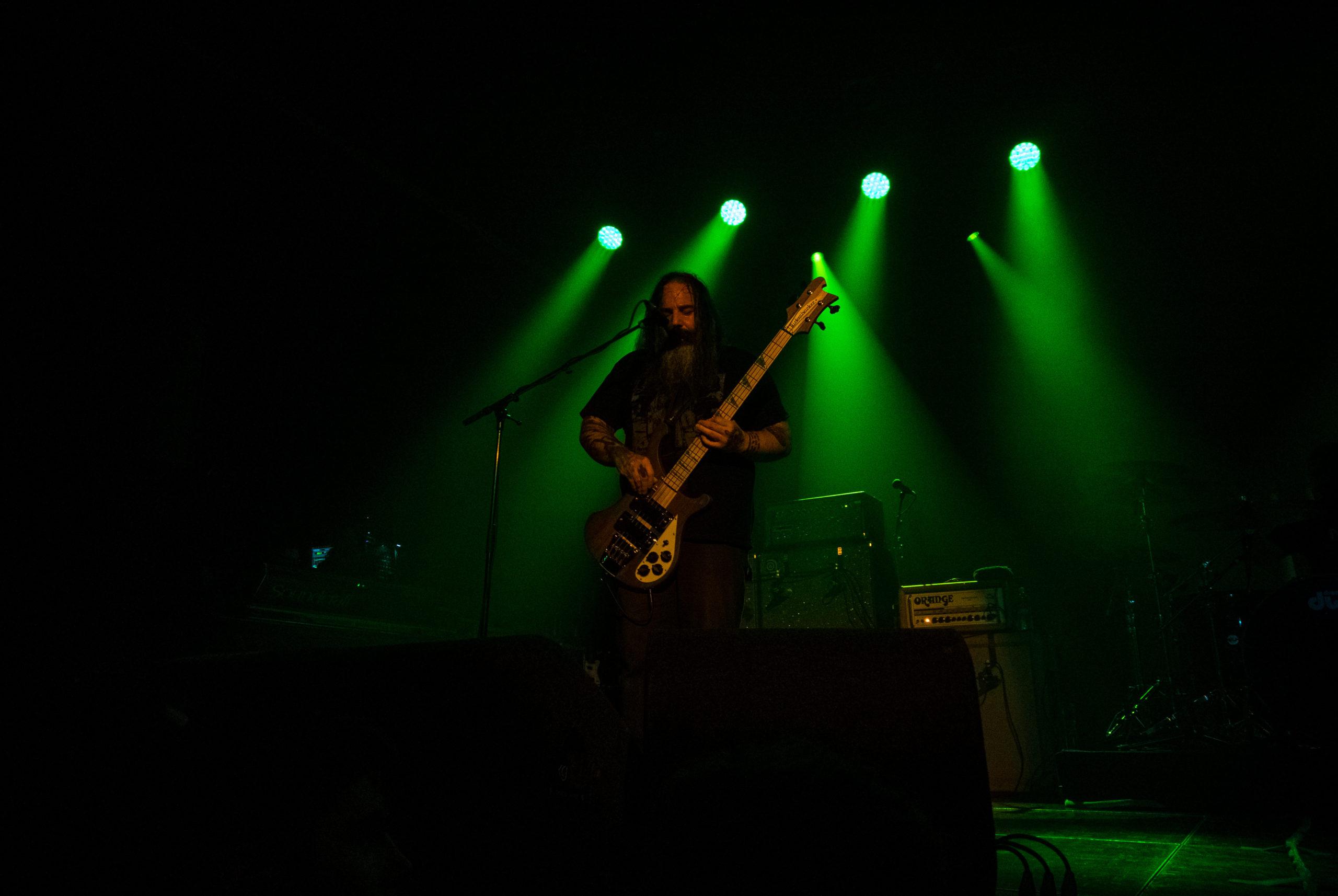 Al Cisnero au concert de Sleep au Melkweg d'Amsterdam